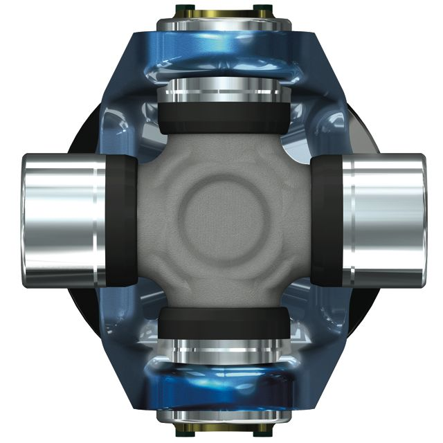 The new Dana SPL Model 250 universal joint assembly.