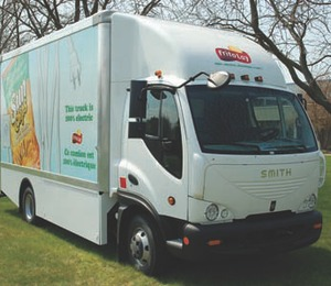 CLEAN AND GREEN: Frito Lay has deployed six all-electric delivery trucks into its Canadian fleet.