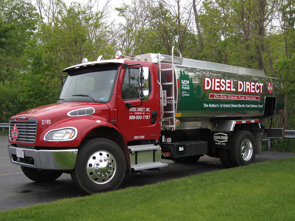 Diesel Direct has taken delivery of this Business Class M2 Hybrid from Freightliner.