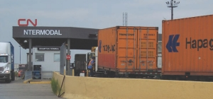 Capacity conundrums: Truckers first protested wait times at CN's Brampton terminal in 2003.