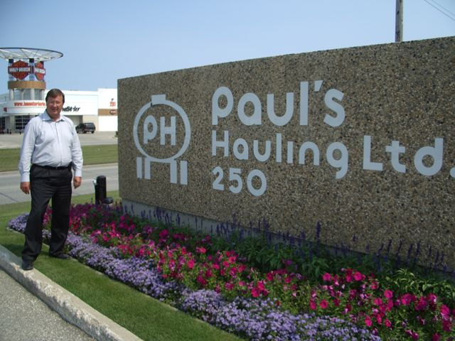 John Erik Albrechtsen of Paul's Hauling remains bullish about the trucking industry but has some concerns.