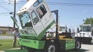 READY TO COMPETE: Shunting might be the best application for regenerative braking as they include lots of stops in an intense duty cycle. Capacity of Longview, Texas has seized on the idea and produced an electric shunt truck that meets all the criteria of its diesel counterparts, and even outperforms them in certain ways.