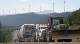 Challenger recently made a cross-country trek with more than 28 million pounds of wind turbine equipment.