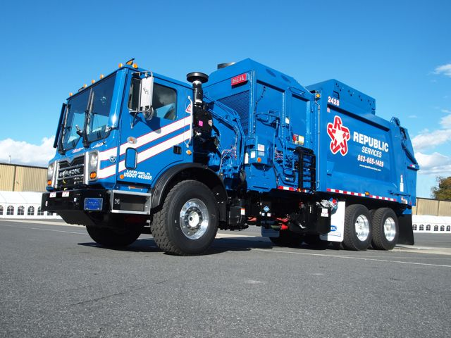 Mack's newest natural gas-powered TerraPro is intended for refuse and construction applications.