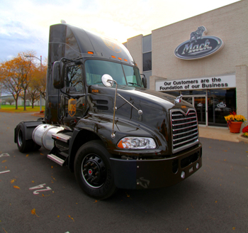 UPS recently placed an order for 475 of Mack's EPA 2010-certified Pinnacle models, featuring Mack MP engines and Mack ClearTech SCR technology.