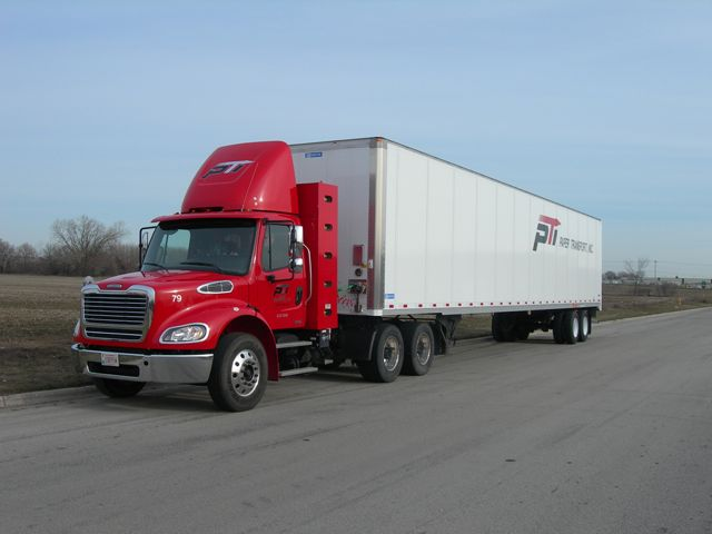 Paper Transport is saving $1/gallon in fuel with its two CNG-powered Freightliners.