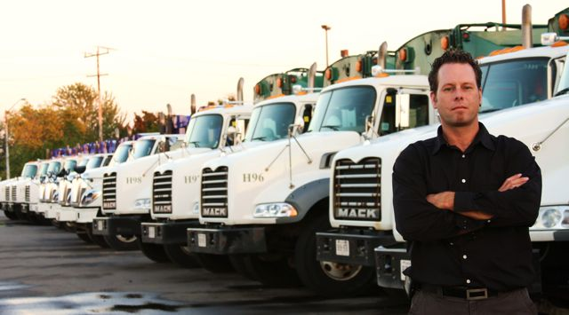 Steve Cooke, maintenance manager for National Waste Services in Ajax, Ont. oversees a fleet of refuse trucks.