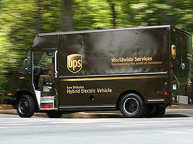 UPS is a big believer in Eaton's hybrid system, recently placing an order for 130 hybrid delivery vehicles.