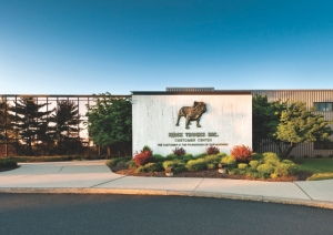 NO DOGHOUSE: Mack's state-of-the-art Customer Center showcases the company's history as well as its newest products.