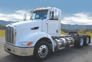 BREAKTHROUGH: Robert Transport is the first Canadian fleet to place a major order for LNG-powered trucks similar to this one.