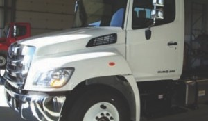 HINO 358: Hino's flagship Model 358 could pass as a Class 8 but is intended for rigorous Class 7 applications.