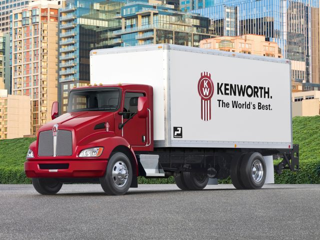 The Kenworth T270 is among the models eligible for free extended warranty coverage when financed through Paccar.