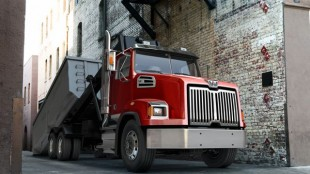 The new Western Star 4700 vocational truck.