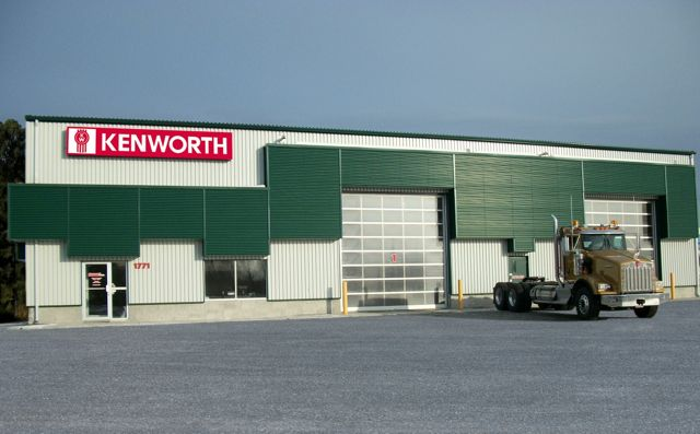 The new Kenworth dealer is located just off the Trans-Canada Hwy. in Val D'or, Que.