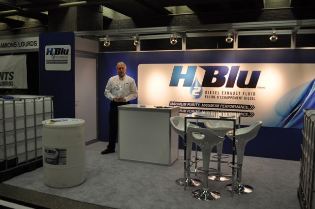 Wakefield Canada introduced its H2Blu diesel exhaust fluid at ExpoCam.