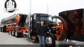 Jonathan Eilen's winning Peterbilt Model 389.