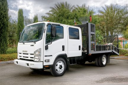Isuzu is now once again offering a gasoline-powered N-Series medium-duty truck.