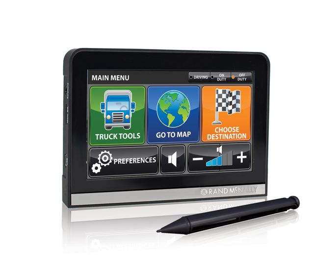 Rand McNally's popular line of truck-specific GPS systems can now be purchased in Canada.