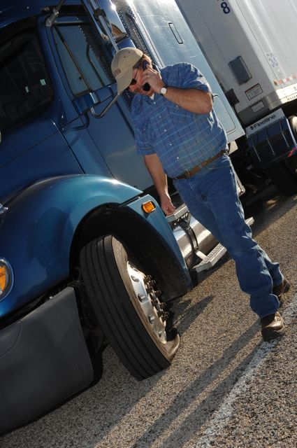 More than 900 truckers in despair placed a call to Goodyear's fleetHQ in June.
