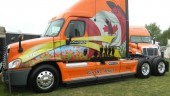 The Canadian Ride of Pride truck, photographed at the Fergus Truck Show.