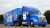 Chevron's new Delo Truck made its debut at GATS.