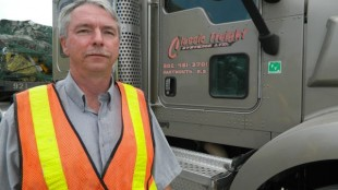 Blair Clark, pictured, has ambitious goals for Classic Freight Systems.