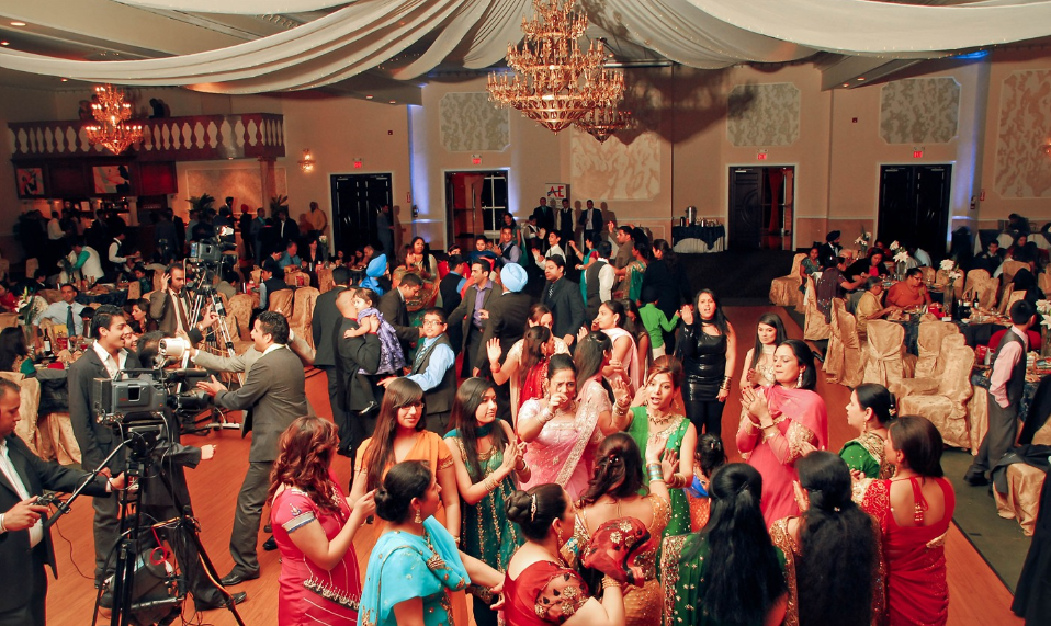 Guests at Avaal's 9th Annual Christmas Night hit the dance floor in Brampton on Dec. 17.