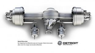 Detroit drive axle