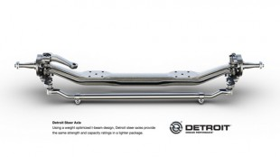 Detroit steer axle