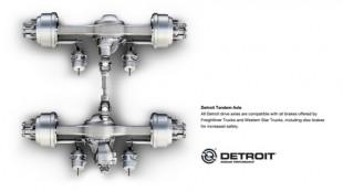 Detroit tandem axle