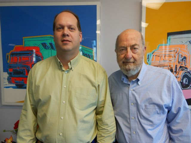 Is your trucking company in trouble? These guys may want to buy it. Wayne Deno (left) and Steve Russell of Celadon are planning to take a proven acquisition strategy from the US and adapt it to Canada.