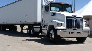Western Star's new 4700 tractor.
