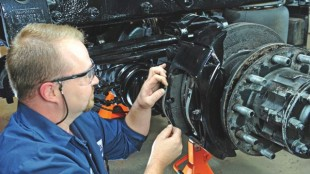 Disc brakes offer many benefits, including improved performance and ease of service.