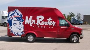 Mr. Rooter - Identity Fleet Graphics