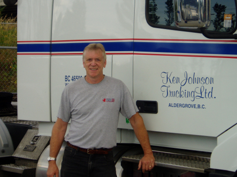 Surrey resident Daryl Giesbrecht, a driver with Ken Johnson Trucking, was crowned Grand Champion at the 2012 British Columbia Professional Truck Driving Championships June 23.