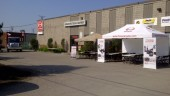 Durham Hino Truck and Equipment hosted its first annual Customer Care Clinic and Appreciation Day BBQ on June 20 to commemorate its newly renovated facility.