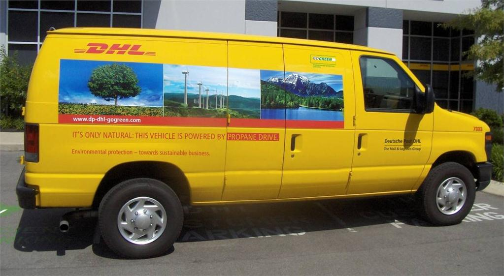 DHL Express has continued to green its fleet with the addition of 100 propane-powered P&D trucks for its US operations.