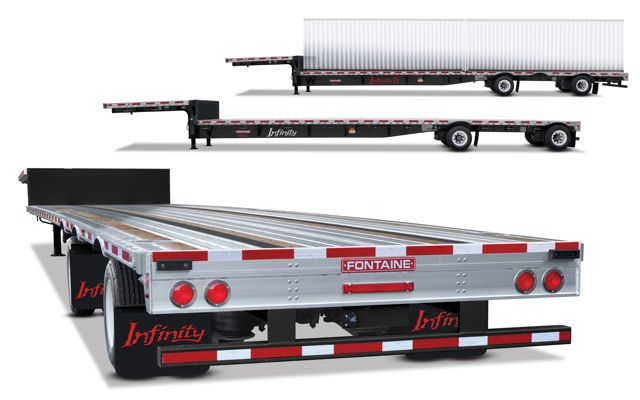 Fontaine Trailer has added three new designs to its Infinity trailer line.
