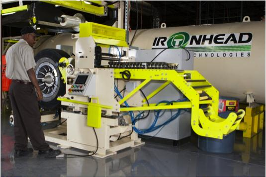 """Ironhead officials say the company is aiming to provide customers an alternative option to the """"big three multi-national retreaders,"""" via its Mississauga, Ont. retreading facility."""