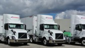 Purolator has received the first trucks equipped with Volvo's new Remote Diagnostics aftermarket service.