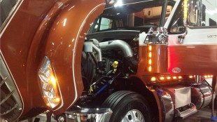The LoneStar will be the first Navistar model out with an SCR capable MaxxForce 13L engine. Company officials said that should happen in April.