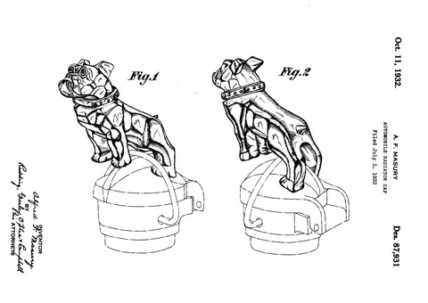 Alfred Fellows Masury, a chief engineer at Mack Trucks, patented his design for the Mack Bulldog Oct. 11, 1932.
