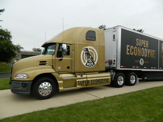 Mack is taking its Super Econodyne powertrain package on the road. It will visit Canadian Mack dealers in the new year.