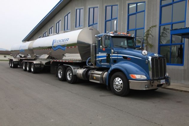 Vedder Transport is adding new business because of its transition to natural gas.