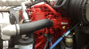 A look under the hood of the ProStar+ with ISX15 engine with SCR.