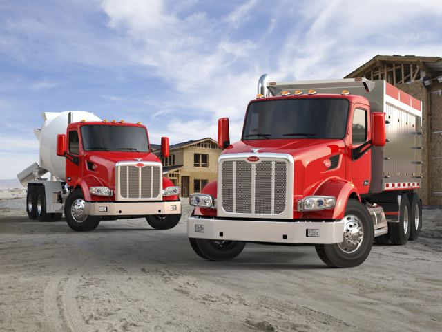 The new Peterbilt Model 567.