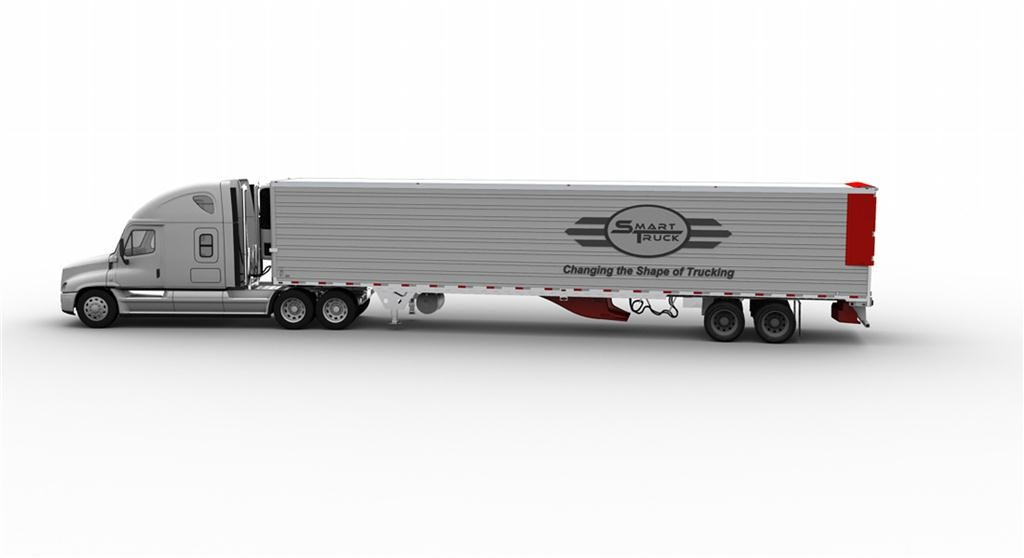 SmartTruck officials say the company's latest generation of trailer side fairings will now fit on all trailer models.