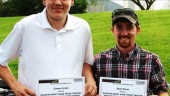 Connor Irwin and Sean Dixon were awarded with Glasvan Great Dane Truck Trailer Service Technician scholarships May 29.