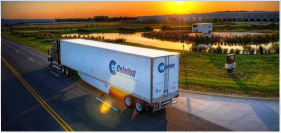 Great Dane recently completed production of Celadon Group's first refrigerated trailer, part of a 200-reefer order being built at Great Dane's newest manufacturing facility in Statesboro, Ga.
