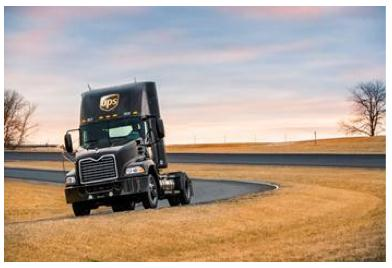 Mack Pinnacle Axle Back model, powered by liquefied natural gas and built for UPS, is being showcased at the ACT Expo in Washington, D.C. today.